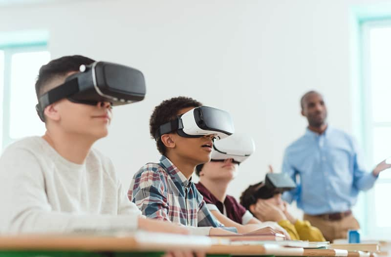 """""""Learning in an immersive environment allows students to better understand"""
