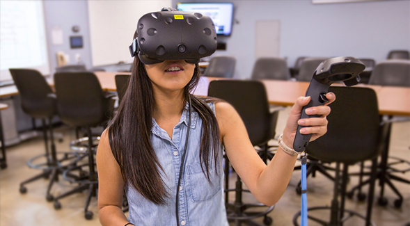 """""""The beauty of virtual and augmented reality is that it"""